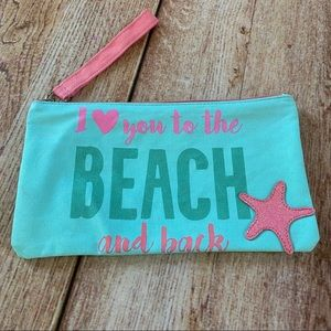 Other - I Love You To The Beach And Back Zippered Bag